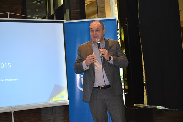 In a media briefing, Intel Philippines Country Manager Calum Chisholm recaps Intel's big moments for the year 2014.