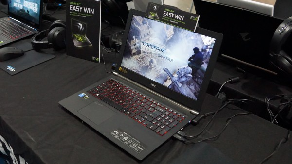 The Acer Aspire V15 Nitro - Black Edition.
