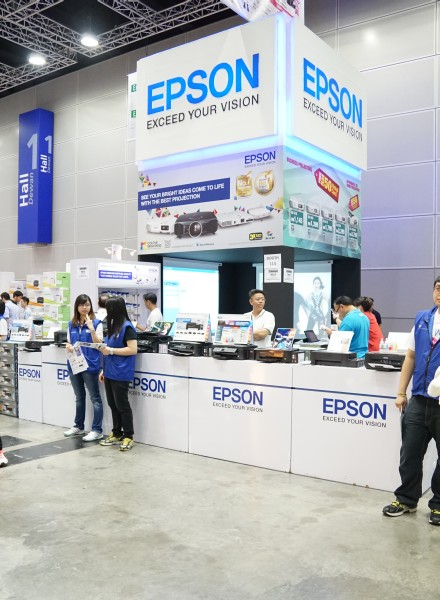 Epson was also there...