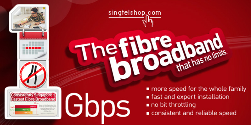 The name may not say it, but SingTel's Unlimited Fiber plan is a 1Gbps plan. (Screengrab from SingTel Online Shop.)