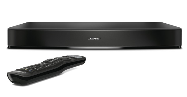 bose cinemate 15. measuring 62.9 x 35.6 7.6cm, the bose solo 15 tv sound system should fit beneath most televisions with screens under 50\u201d, and features five drivers cinemate