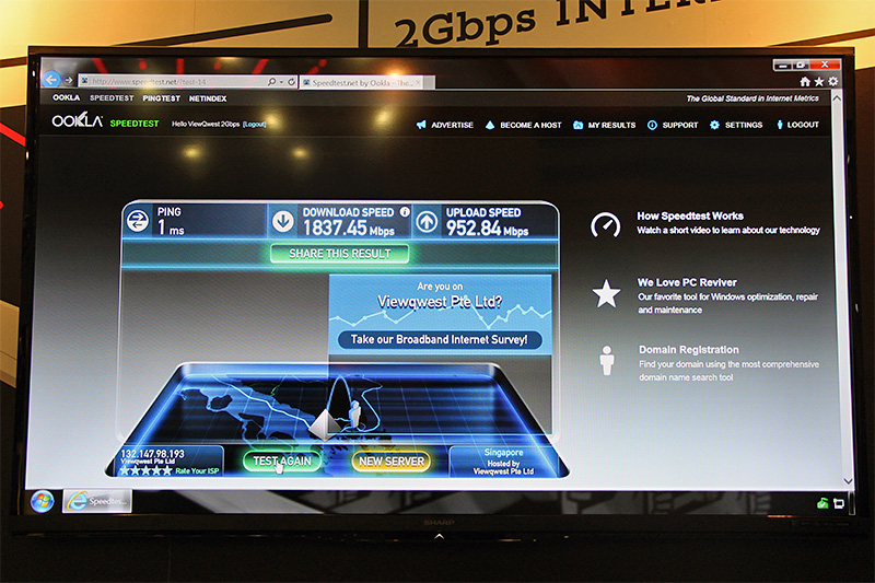2Gbps fiber broadband? Bring it on!