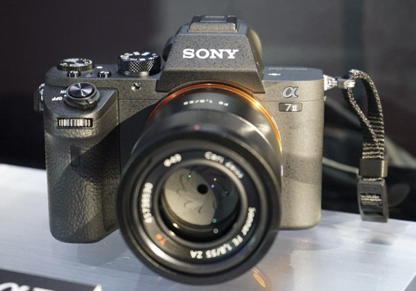 The A7 II looks exactly like the A7.