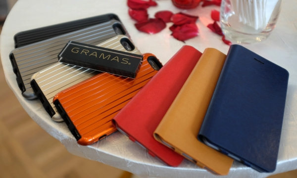 A selection of hybrid (Precision series) and leather (GRAMAS series) cases for the iPhone 6.