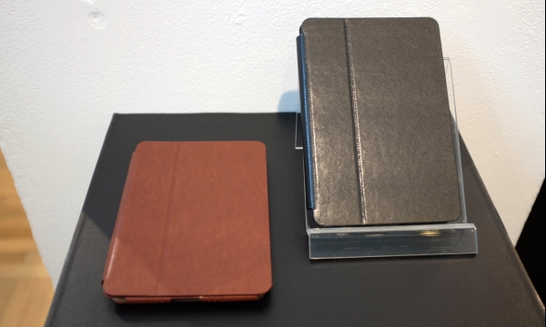 GRAMAS also showcased the Precision Tablet PU leather cases for iPad mini 3 and iPad mini with Retina display.