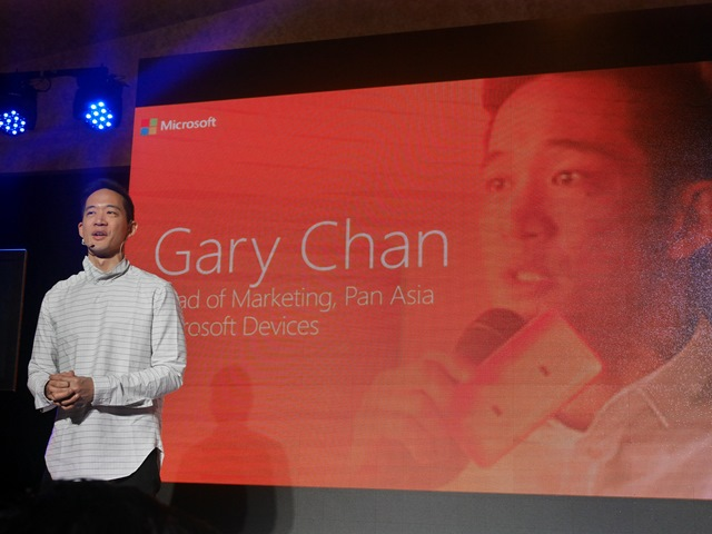 Gary Chan, Microsoft Devices' Head of Marketing in Pan Asia, talks about the new Lumia 535 Dual SIM.