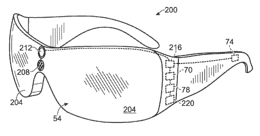 The Microsoft patent even has concept drawings of how the glasses could look like.