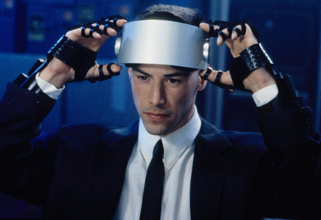 It might take a while to get headsets like Johnny Mnemonic's, but we'll get there eventually.