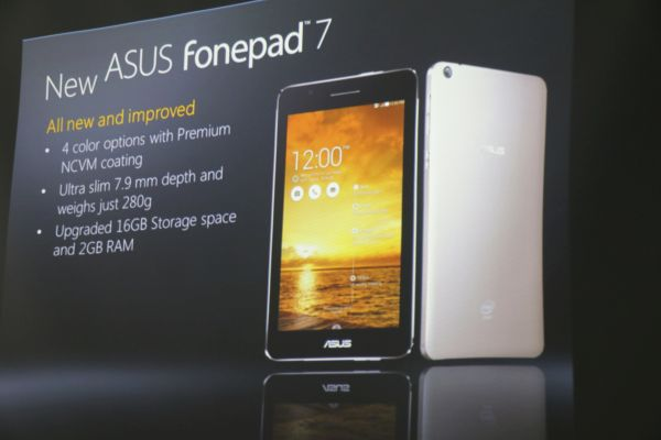 Sharing the same name as the previous ASUS FonePad 7, this model will surely create some confusion.