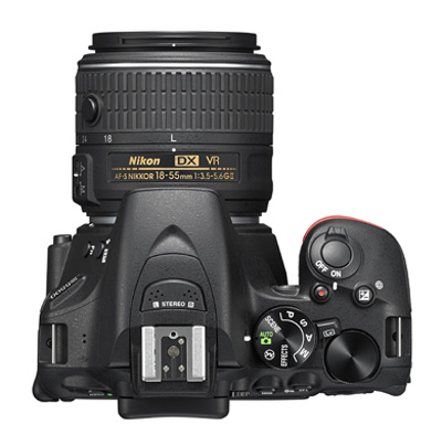 The D5500 features a monocoque structure, like the D750 before it.