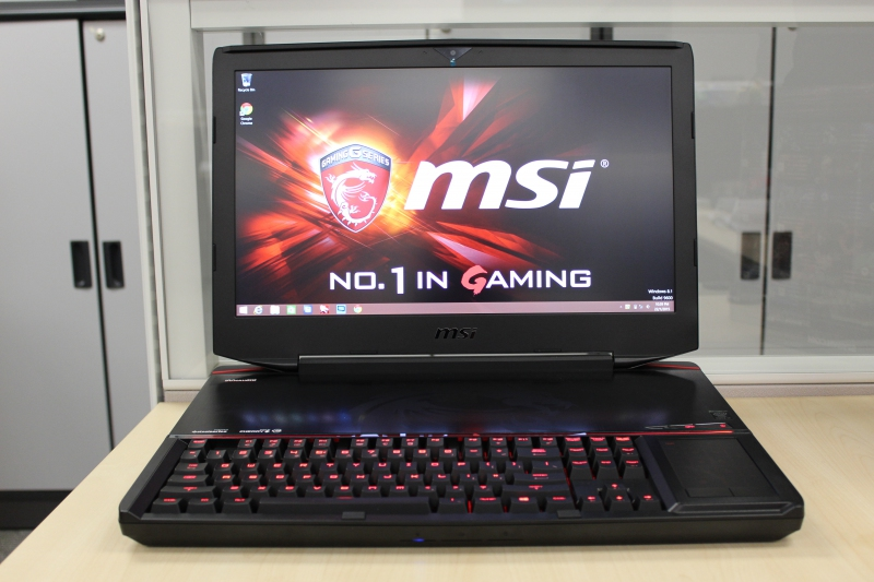 MSI GT80 2QD TITAN SLI INTEL BLUETOOTH XP