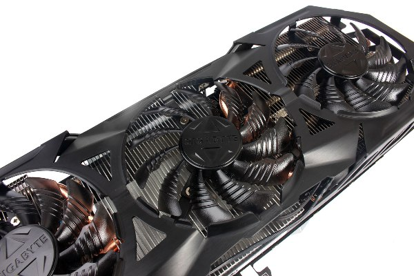 Each of these fans boast a cooling capacity of up to 300W. They also begin spinning only after the GPU temperature rises above 60°C OR when the GPU power goes above 60W. Conversely, they only stop spinning after temperatures drop below 43°C AND power drops below 32W.