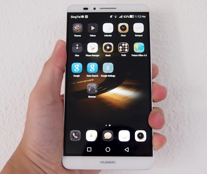 Huawei is stepping up its game with the 6-inch Mate 7.