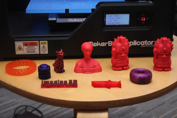 Objects may take hours to print, depending on the size and resolution of the object.