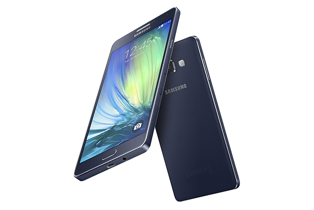 The 6.3mm Galaxy A7 is the thinnest Galaxy smartphone Samsung has made to date.