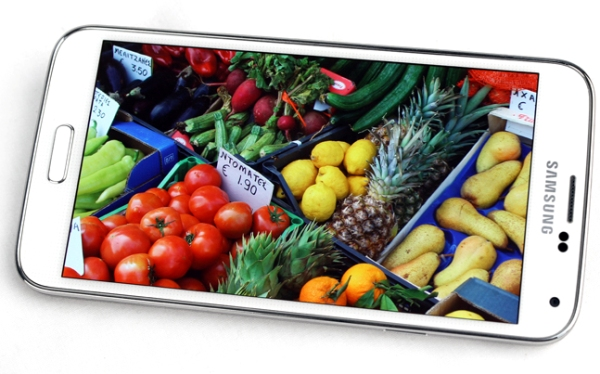 The soon-to-be succeeded Samsung GALAXY S5. Will the next generation flagship look similar?