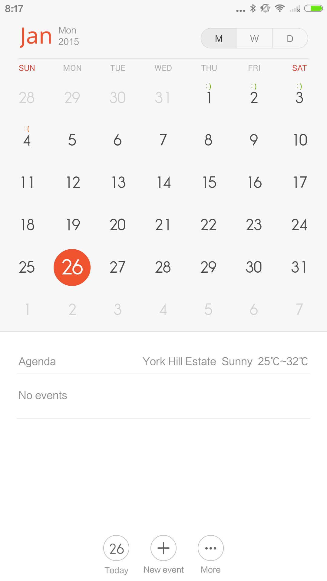 This MIUI 6 calendar looks awfully familiar.