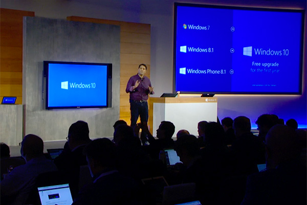 Windows 7, 8.1, and Windows Phone 8.1 users will get a free upgrade to Windows 10 in the first year of the OS' release.