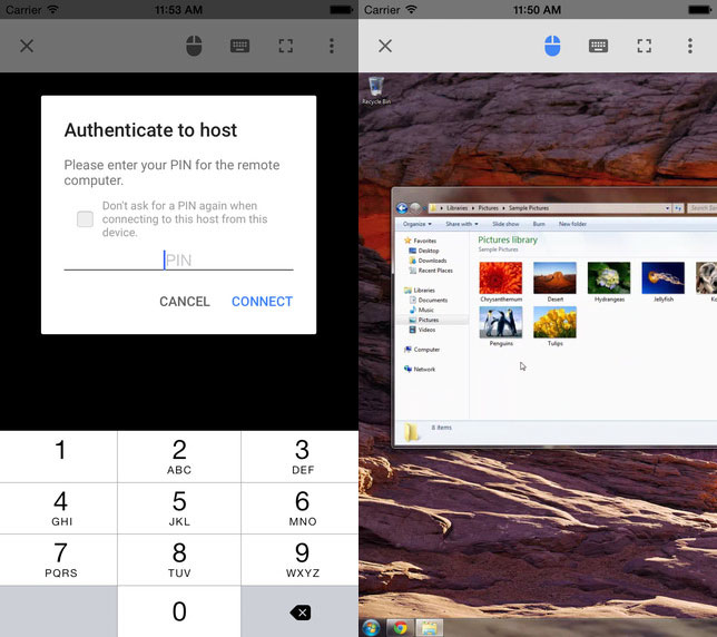 Google unveils Chrome Remote Desktop for iOS - HardwareZone com my