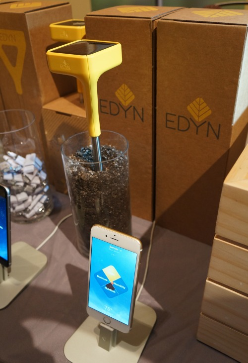 The Edyn Garden System consists of the Edyn garden sensor  the Edyn garden  valve and. Connected Home   CES 2015  Interesting sights from the show