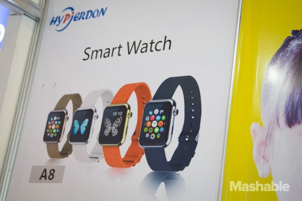 Chinese Company Offers Apple Watch Clone For US27 At CES 2015