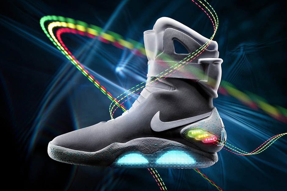 The 2011 Nike Air Mag looked the part, but lacked the movie shoes self-tying Power Laces.