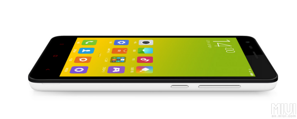 The design of the Redmi 2 looks like a smaller variant of the Redmi Note. <br>Image source: MIUI forum.