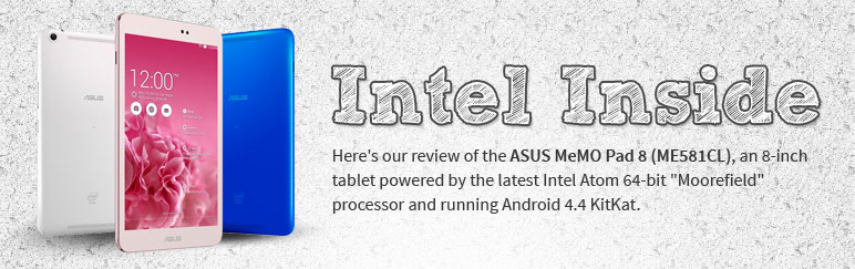 Review: ASUS MeMO Pad 8 (ME581CL)