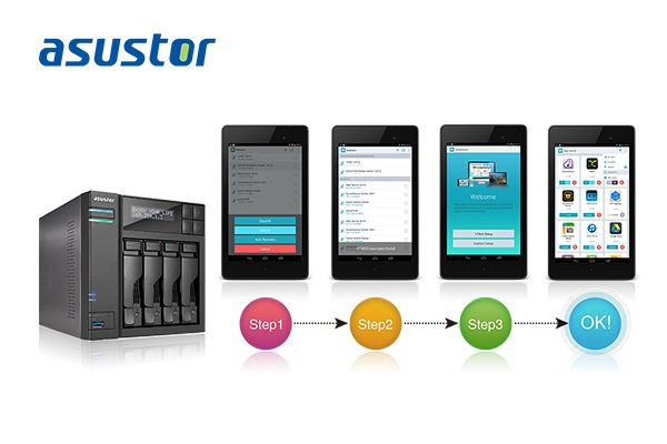 Users can now install apps on their NAS remotely using their mobile devices.