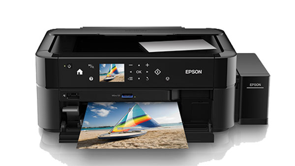 The Epson L850 Is A Multi Function Photo Printer With Six