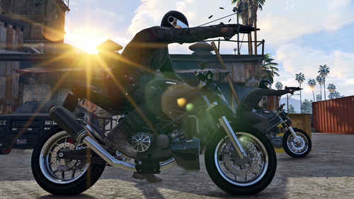 A screenshot of the Heists game mode in GTA V. <br>Image source: Rockstar Games.