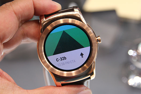 LG's first all-metal Android Wear device, the Watch Urbane ...