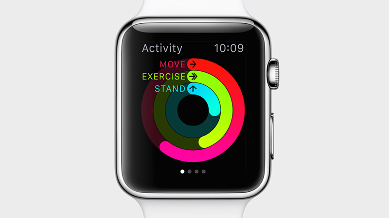 Track your activity levels and progress with the Activity app.