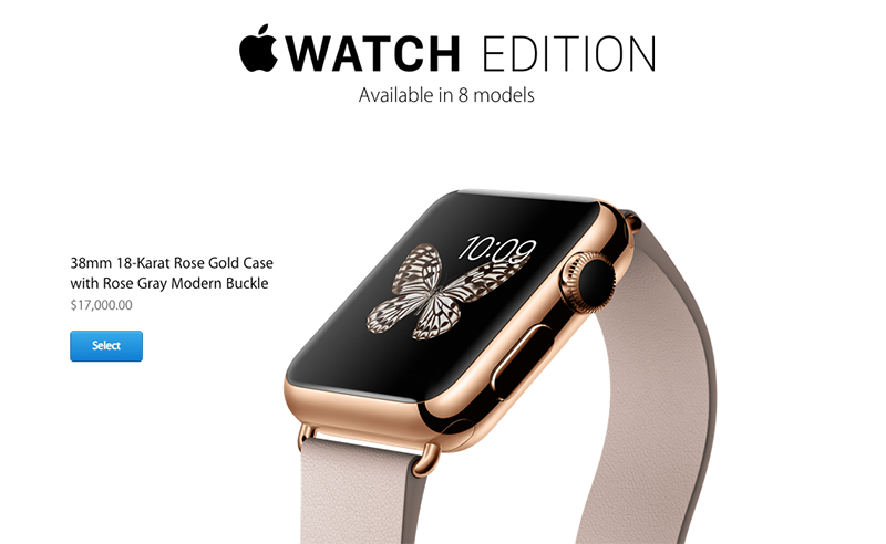 We are not kidding, the Apple Watch Edition can cost as much as US$17,000.