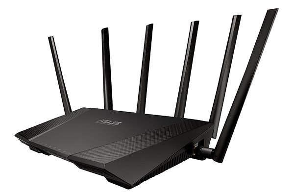 The ASUS RT-AC3200 router. Source: ASUS.