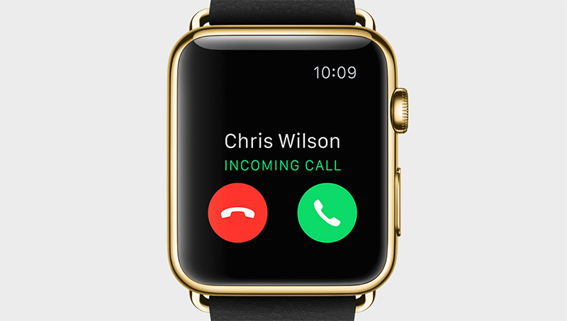 Take calls on your Apple Watch like Dick Tracy.