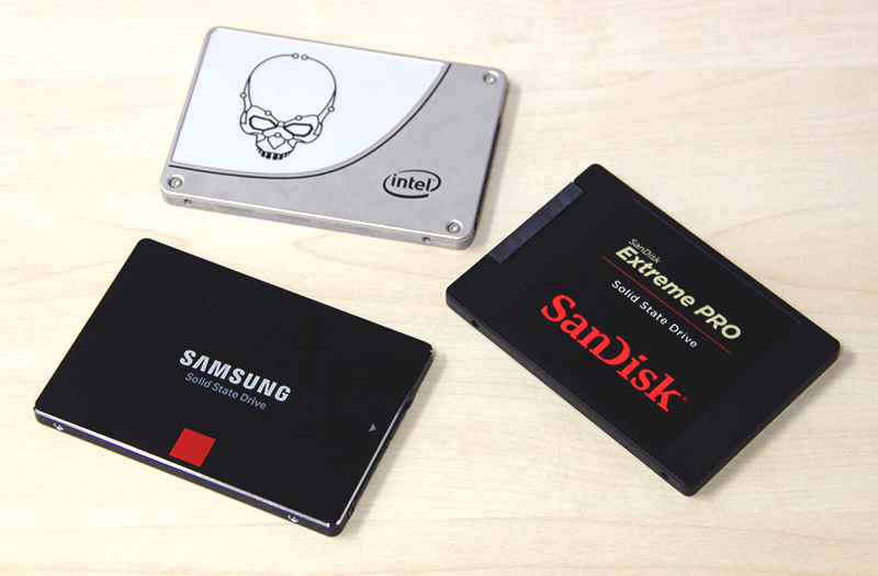 With their own NAND foundries to call upon, Intel, Samsung and SanDisks are true juggernauts in the business of SSDs.