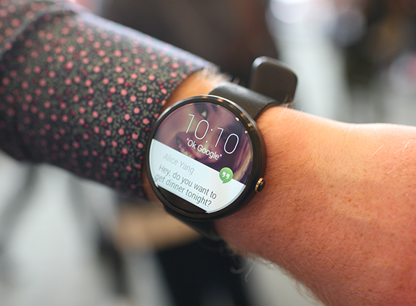 The Moto 360. Source: The Next Web.