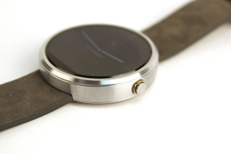 The watch itself is actually quite chunky.
