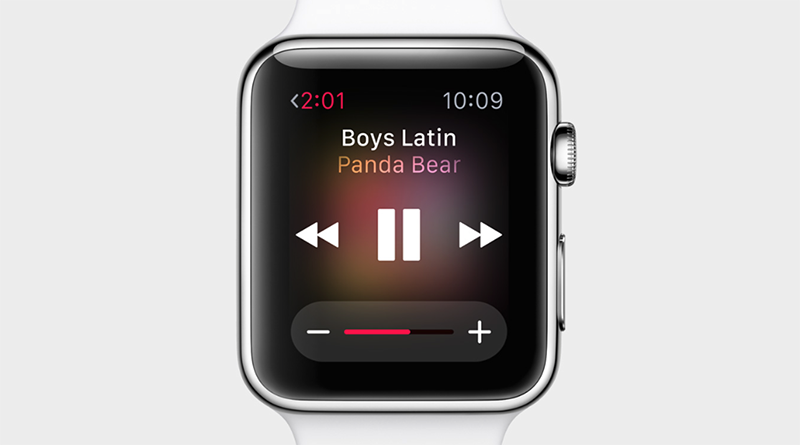 Glances is like Control Center on the iOS. Here, the user can use Glances to control music on his/her iPhone.