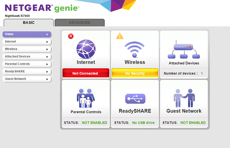Netgear's setup interface is arguably the less refined of the lot, but it remains straightforward to navigate and use. Besides, the router comes preconfigured, so most users can simply plug and play.