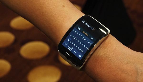 Samsung Gear S. Source: Engadget.