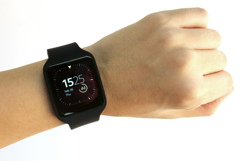 sony smartwatch 3 a smartwatch for runners hardwarezone. Black Bedroom Furniture Sets. Home Design Ideas