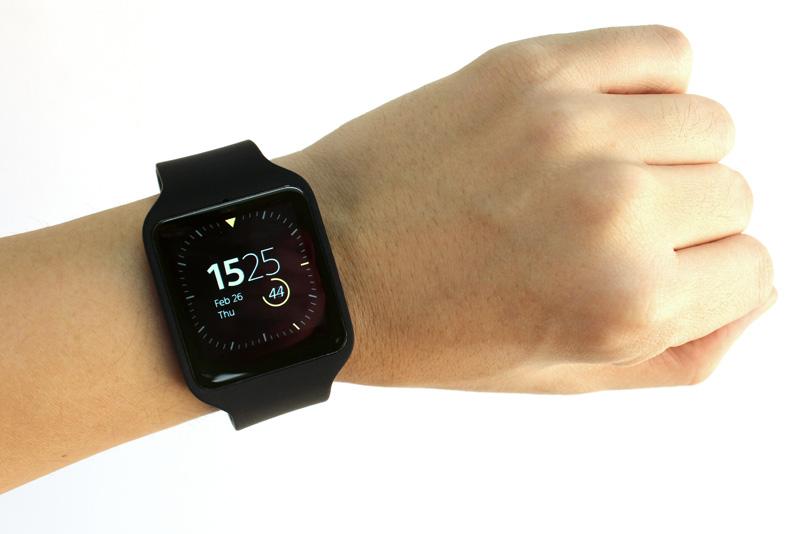 שעון חכם על היד