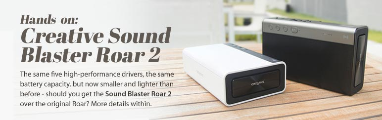 Hands-on: Creative Sound Blaster Roar 2