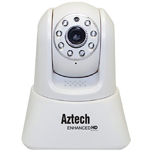 Aztech WIPC410 Enhanced HD Wireless-N Pan/Tilt IP Camera