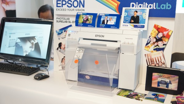 The Epson SureLab PhotoLab D700 and D3000 (below) printers.