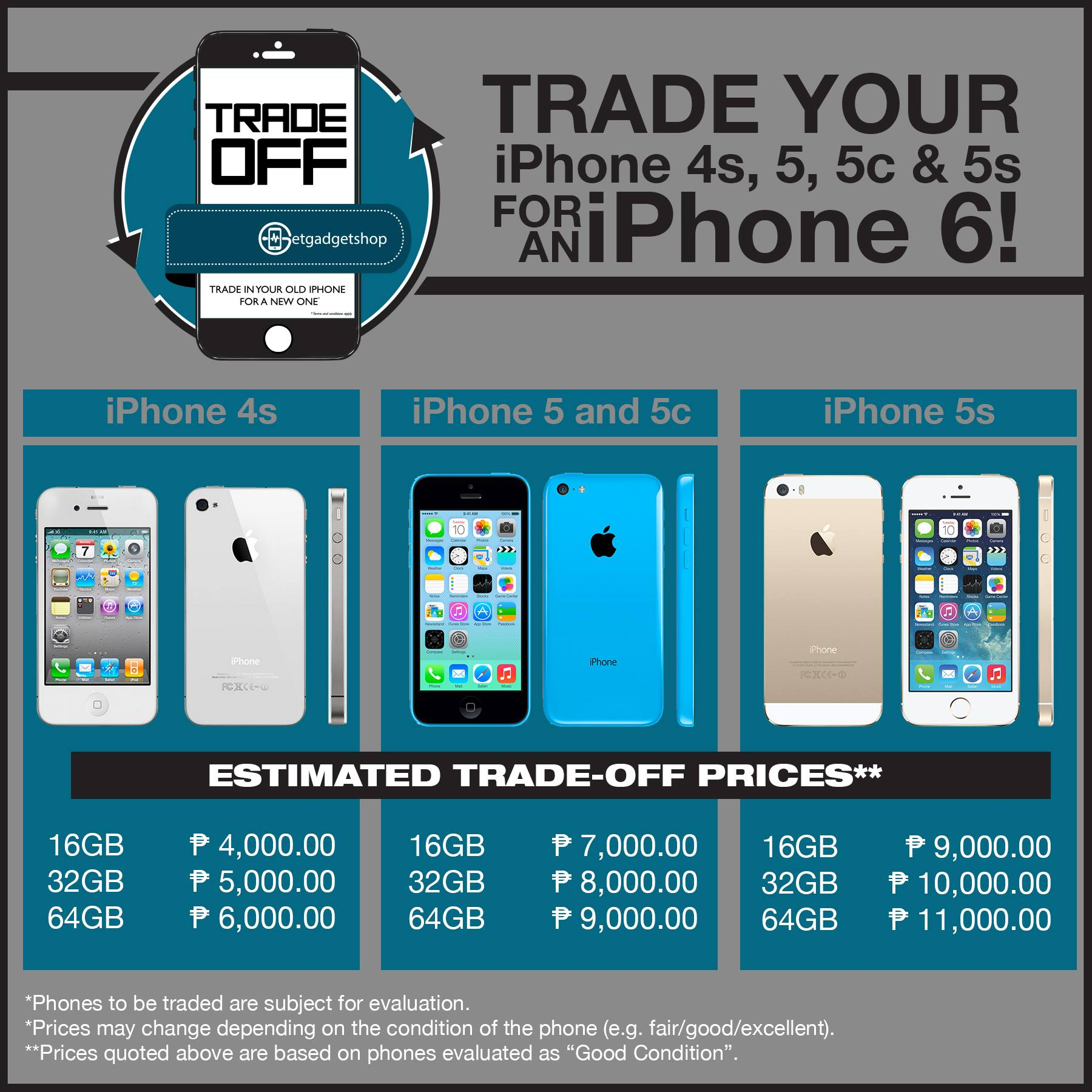 GetGadget Shop One Day Trade Off Promo Is On March 31