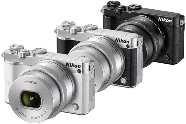 The Nikon 1 J5 will come in black, silver and white.