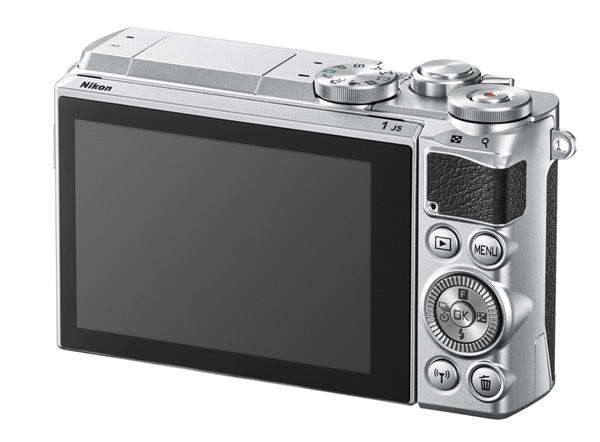 The inclusion of a touch screen means the rear of the camera can stay relatively clean.